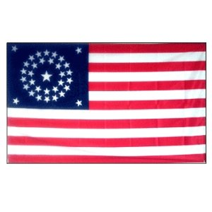 United States National 34 Star Flag