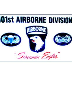 101st Airborne Screaming Eagles Flag